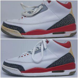 vintage sneaker restore